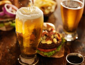 pub food and beer